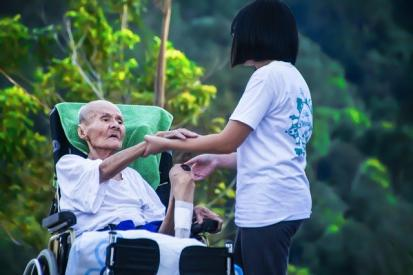 Care Worker's Inspiration for His career