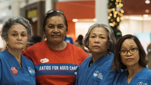 Aged care staff ratios 'would save $2.6 billion', study finds